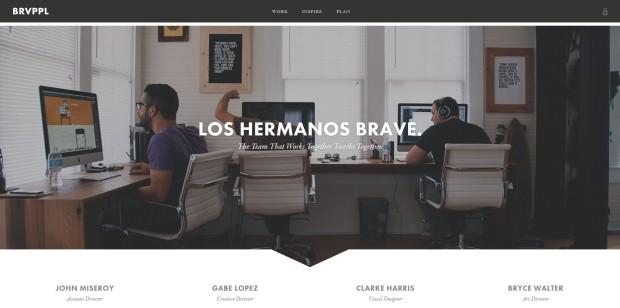 Link zur Website von Brave People