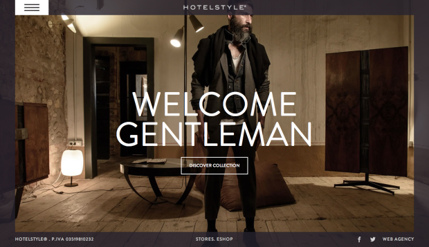 Screenshot der Website Hotelstyle